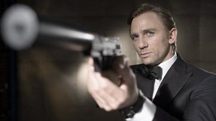 『007 カジノ・ロワイヤル』のダニエル・クレイグ。